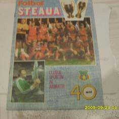 Revista Steaua 40 ani [autograf H. Duckadam