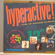 HYPERACTIVE DANCE ALBUM - 2LP BOX (1980/TELSTAR REC /UK) - Vinil/DANCE/IMPECABIL - Muzica Dance universal records
