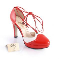 Pantofi Guban model 889 (Marime:: 35) - Pantofi dama