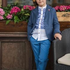 Sacou Iridor baieti Greece (Culoare: albastru, Imbracaminte pentru varsta: 11 ani - 146 cm)