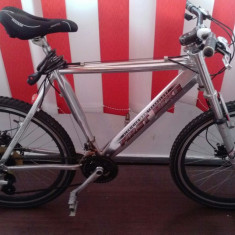 Mountain Bike, 18 inch, 26 inch, Numar viteze: 21 - Bicicleta FIRST BIKE 26 inch