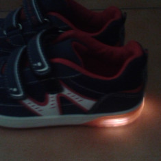 Adidasi copii luminite, leduri
