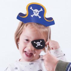 Accesorii de Pirat pentru Fotografii Haioase (pachet de 12) - Costum petrecere copii