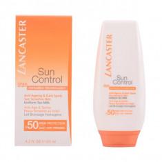 Lancaster - SUN CONTROL body uniform tan milk SPF50 125 ml - Protectie solara