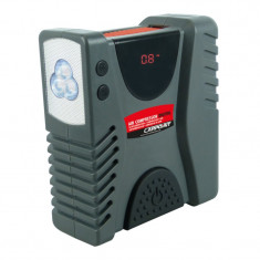 Compresor auto Carpoint multifunctional 12V Compact cu manometru si lanterna LED