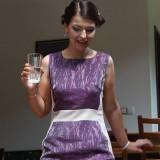 Rochie - Rochie cocktail, 38, Lila