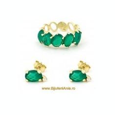 Bijuterii aur seturi colectii noi Italia Radacina de Jad - Set bijuterii aur