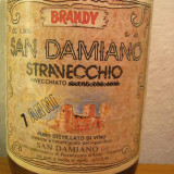 Brandy stravecchio san damiano, 7ani, italy, distillato di vino l. 1, 5 gr 40 - Cognac