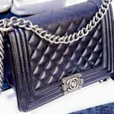 Geanta Chanel - Geanta Dama, Culoare: Negru, Marime: Medie
