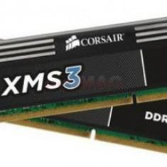 Memorie Corsair XMS3 16GB DDR3 1600MHz CL11 Dual Channel Kit - Memorie RAM laptop