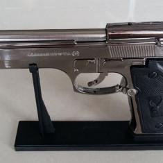 BRICHETA PISTOL Pietro BERETTA U.S.9mm M9. Replica 1:1 Arma Full METAL. SIGILAT