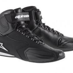 MXE Pantofi Alpinestars Faster, negru Cod Produs: 25102141010AU - Ghete Moto
