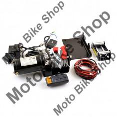 MBS Troliu electric atv 2500lbs(1133kg), actionare din buton sau telecomanda, Cod Produs: MBS180401