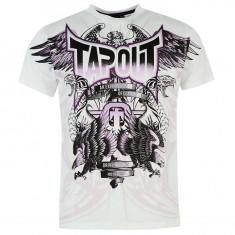 In STOC! Tricou Tapout Print Mens T Shirt - Original - Marimea M - e ca un XL ! - Tricou barbati Tapout, Culoare: Din imagine, Bumbac