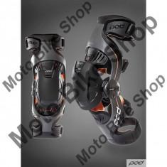 Protectii moto - MBS Orteze genunchi POD K1, gri/portocaliu, YL = 29.5-32 cm, Cod Produs: K1013230YLAU