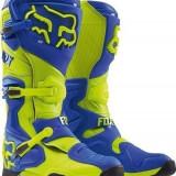 MXE Cizme motocross Fox Comp 8 RS, albastru/galben Cod Produs: 1645102610AU