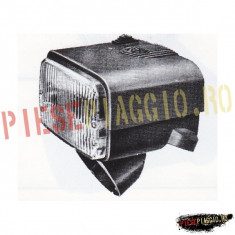 Far complet Piaggio Bavo2 negru PP Cod Produs: F283/NE - Far Moto