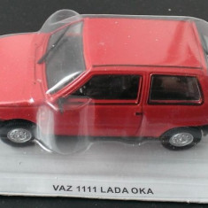 Macheta metal DeAgostini - Vaz 1111 Lada Oka - Masini de Legenda Polonia - noua - Macheta auto, 1:43