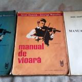 Manual de vioara, vol III – IV + anexa, I. Geanta, G. Manoliu - Carte Arta muzicala