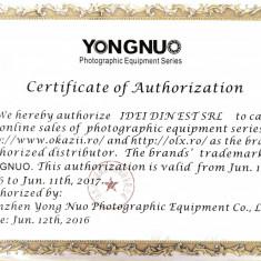 Flash / blitz Yongnuo YN 685 YN-685 cu TTL pentru Canon 600, garantie - Blitz dedicat