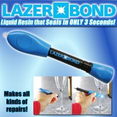 Lazer Bond, adeziv lichid, cu lumina UV