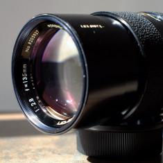Obiectiv foto Tamron 135mm/2.8 pt Canon Nikon Sony Fuji Olympus 4/3 - Obiectiv DSLR Tamron, Tele, Manual focus