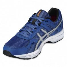 Adidasi barbati - Pantofi Alergare, Asics, Gel-Essent 2, Cushioning, Albastru-Argintiu-Negru, Barbati-44 - OLN-OL10-T526N.4293|44