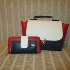 Geanta Dama - Set dama geanta si portofel Tommy Hilfiger+CADOU