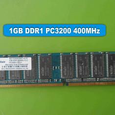 Memorie RAM PC DDR1 1GB PC3200 400MHz Elixir