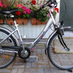 Bicicleta de oras StreetCoach, import Germania, 17 inch, 26 inch, Numar viteze: 6