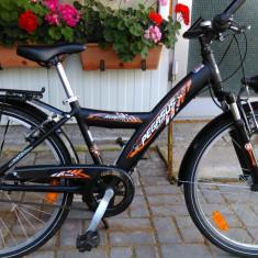 Bicicleta pentru copii Pegasus, import Germania - Bicicleta copii, 14 inch, 24 inch, Numar viteze: 3