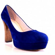 Pantofi dama Pantofi Zign marimea 41, Piele intoarsa