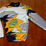 Bluza ciclism vintage M.H.; marime 6 (XL), vezi dimensiuni; impecabila, ca noua