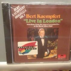 BERT KAEMPFERT - LIVE IN LONDON (1975/POLYDOR/GERMANY) - ORIGINAL/NOU/SIGILAT - Muzica Clasica universal records, CD