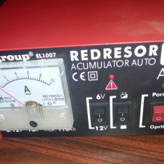 Redresor acumulator auto 10A 12V 110Ah - Redresor Auto Ro Group