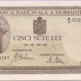 Bancnota 500 Lei 1942 (aprilie) UNC !