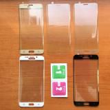 Folie Sticla Securizata Curbata / Tempered Samsung Galaxy S6 edge / S6 edge plus
