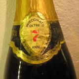 Brandy VSOP, FRANCIACORTA, mai multe de 7 ani, cl.75, gr. 40 RARE sticla 04361 - Cognac