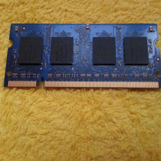 Memorie RAM laptop 512MB DDR2 Nanya NT512T64UH8B0FN ( 667 MHz )