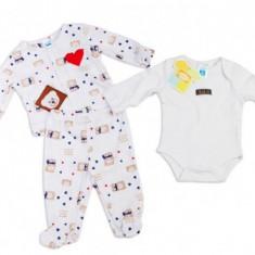 Hainute bebelusi de interior Carters 6 luni, Alb