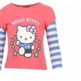Set 2 bluze fetite Hello Kitty 1-2 ani, Multicolor