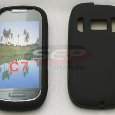 Husa silicon Nokia c7 - Husa Telefon