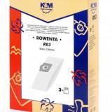 Sac aspirator Rowenta ZR814, hartie, 3X saci, K&M