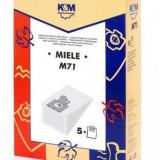 Sac aspirator Miele S 246- S 256, hartie, 5X saci, K&M