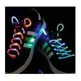 Sireturi de pantofi cu led, verzi,BasicXL