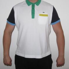 Tricou Original LACOSTE - Marimea 7 / XL - Tricou barbati Lacoste, Culoare: Din imagine, Maneca scurta, Bumbac