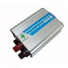 Invertor 12V si 24V -220V cu putere 500W - Invertor Auto