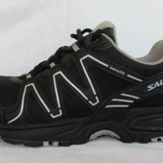Pantofi alergare SALOMON Caliber GTX W originali, marime 39 1/3 (24.5 cm) - Incaltaminte atletism