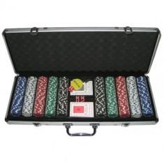 Set Poker 500 jetoane, Numar jetoane: 500