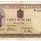 Bancnota 500 lei 2.IV.1941 filigran vertical (16)